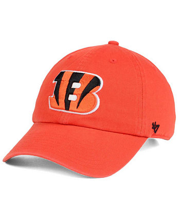 Cincinnati Bengals CLEAN UP Кепка с ремешком на спине '47 Brand