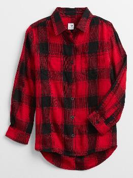 Детская фланелевая рубашка Gap Factory