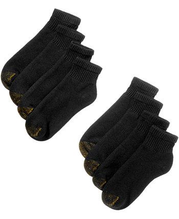 Мужские четверть носки с 8 пакетами Gold Toe