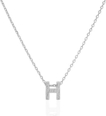 Ожерелье с подвеской A-Z Block Letter Melinda Maria