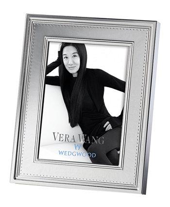 """Рама Grosgrain 5 """"x 7"""" Vera Wang Wedgwood"""