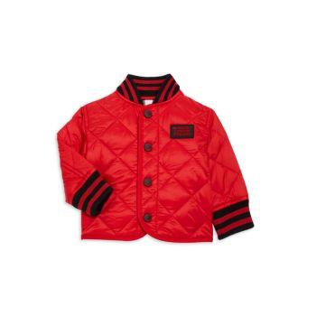 Детские & amp; Стеганая куртка Mini Delaney для маленьких мальчиков Burberry