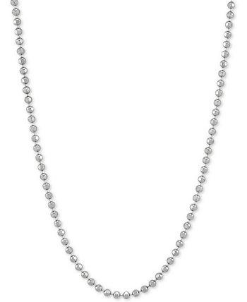 "Bead Link 20 ""Колье из Цепочки Стерлингового Серебра Giani Bernini"