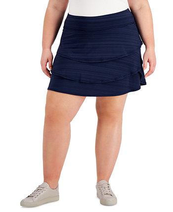 Юбки больших размеров с оборками, созданные для Macy's Ideology