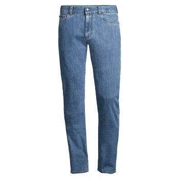 Прямые джинсы стрейч Canali