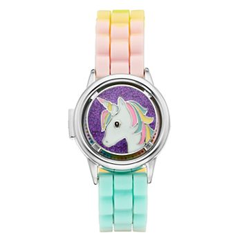 Limited Too Kids' Unicorn Spinner Flip-Up Lid Watch Limited Too
