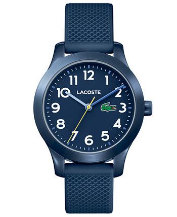 Детские часы 12.12 с синим силиконовым ремешком, 32 мм Lacoste