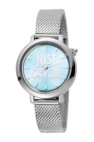 Женские часы с браслетом с логотипом, 34 мм Just Cavalli