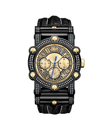 Мужской 10-летний юбилей Phantom Diamond (1 3/4 ct.t.w.) и часы с хронографом JBW