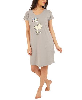 Рубашка для сна Peanuts Woodstock Ночная рубашка Munki Munki
