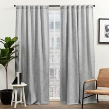 Exclusive Home Curtains 2-pack Cassian Light Filtering Hidden Tab Top Window Curtain Set Exclusive Home
