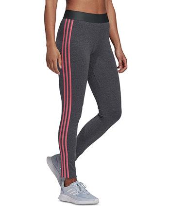 Женские леггинсы с 3 полосками Essentials Adidas