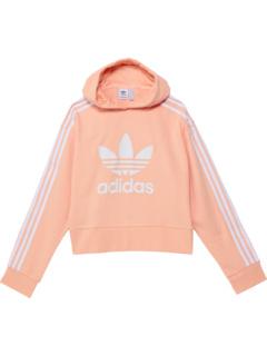 Adicolor Cropped Hoodie (Little Kids/Big Kids) Adidas Originals Kids