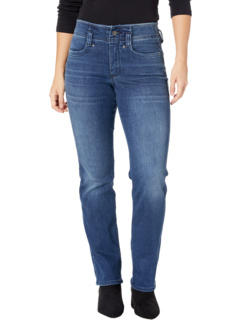 Прямые джинсы Marilyn Petite с высокой посадкой в цвете Saybrook NYDJ Petite