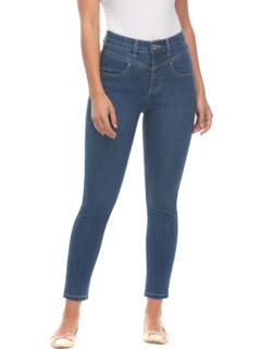 Укороченный кроп Denim Suzanne Slim в цвете Индиго Renew FDJ French Dressing Jeans