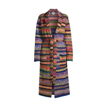 Куртка Duster с несколькими нашивками M Missoni