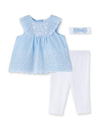 Набор люверсов для новорожденных девочек Little Me