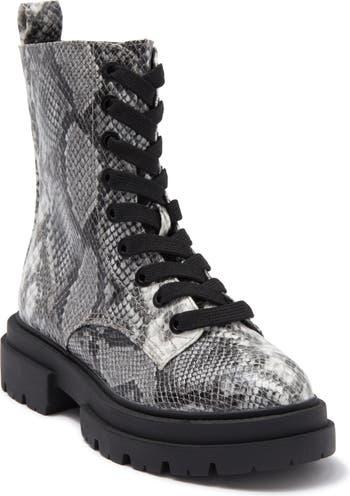 Кожаные боевые ботинки на шнуровке Flume DV DOLCE VITA