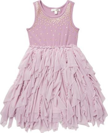 Платье-пачка с блестками и блестками AVA AND YELLY