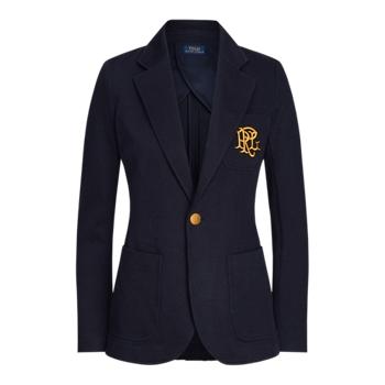 Double-Knit Jacquard Blazer Ralph Lauren
