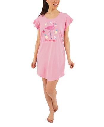 Рубашка для сна Flamazing и пижама для резинки для волос Munki Munki