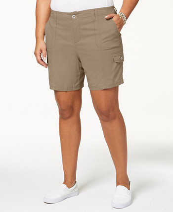 Грузовые шорты больших размеров, созданные для Macy's Style & Co