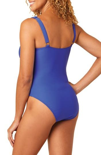 Tie Front Maillot Athena