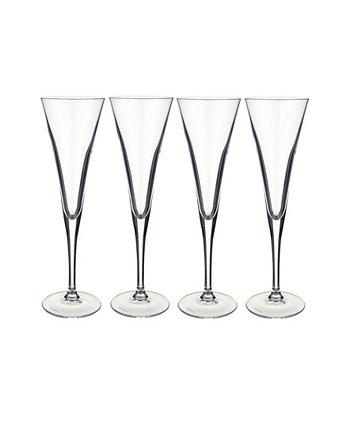 Бокал для шампанского Purismo Special Flute, набор из 4 шт. Villeroy & Boch