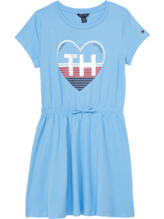Платье-футболка с сердечками (для больших детей) Tommy Hilfiger Kids