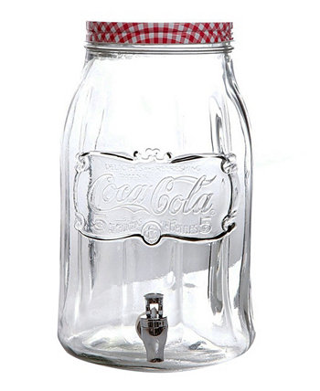 Диспенсер для напитков Mason на 2 галлона Coca-Cola Country Classic Laurie Gates