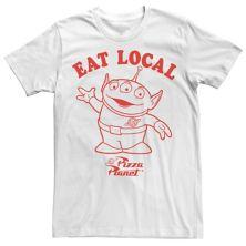 Мужская футболка Disney / Pixar Toy Story Pizza Planet Alien Eat Local Disney / Pixar