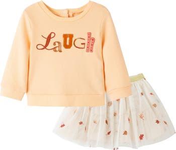 Комплект с юбкой с принтом Laugh PEEK ESSENTIALS