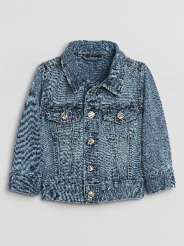 Детская джинсовая куртка с Washwell ™ Gap Factory