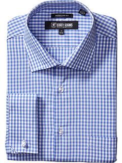 Классическая рубашка в клетку Big & Tall в клетку Stacy Adams
