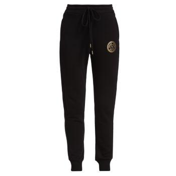 Хлопковые брюки-джоггеры Versace Jeans Couture