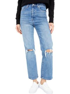 Knee Rip Baxter Rib - прямые джинсовые брюки Cage Relaxed в цвете Whirlwind Blank NYC