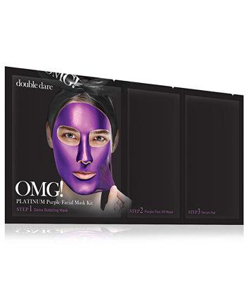 МОЙ БОГ! Платиново-фиолетовая маска для лица Double Dare