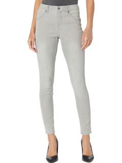 Легкие джинсовые леггинсы с высокой талией HUE