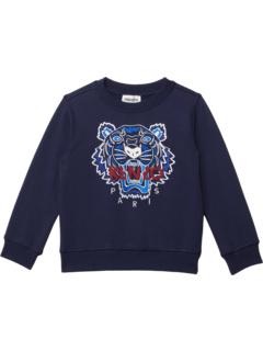Tiger Sweatshirt (Little Kids/Big Kids) Kenzo Kids