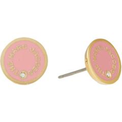 Серьги-гвоздики с медальоном Marc Jacobs