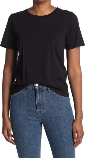 Облегающая футболка с круглым вырезом BLDWN