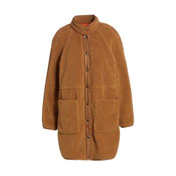 Пальто Sullie Sherpa Teddy VERONICA BEARD