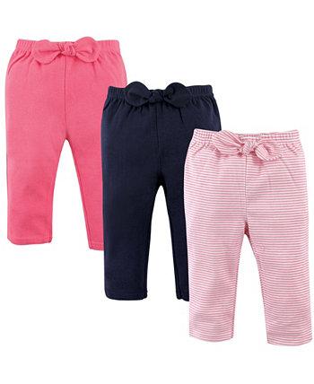 Полосатые брюки и леггинсы для мальчиков и девочек, набор из 3 шт. Hudson Baby