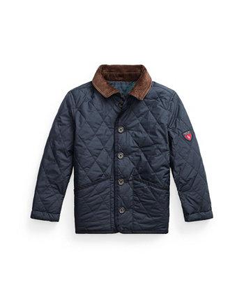 Двусторонняя водоотталкивающая куртка Little Boys Ralph Lauren