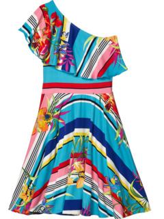 Гавайское платье Zoe (Big Kids) Fiveloaves twofish