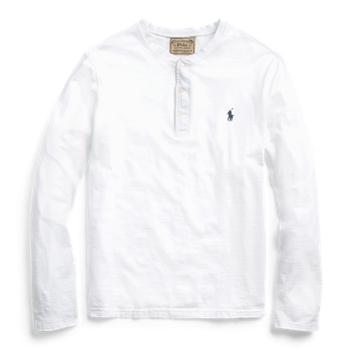 Рубашка Хенли из джерси Slub Ralph Lauren