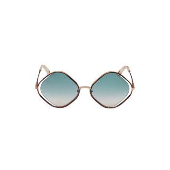 Солнцезащитные очки с бриллиантами 57 мм Chloe