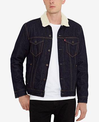 Мужская джинсовая куртка из шерпа Levi's®