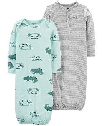 Пижамы для маленьких мальчиков, комплект из 2 шт. Carters