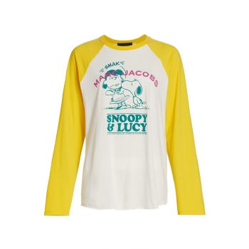 Бейсбольная футболка Peanuts® THE MARC JACOBS